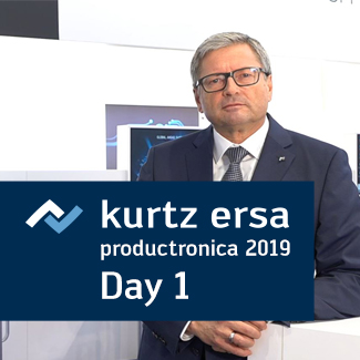 Ersa TV productronica ... Day 01